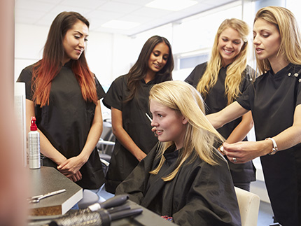 instructor cosmetology beauty hair hairdressing education dorsey apprenticeship therapy training class lhaa highbury apprenticeships continuing college working becoming level schools