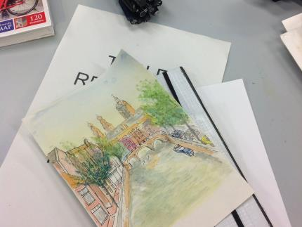 Highbury College offers a range of free community art courses