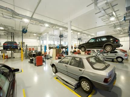 Fully operational Automotive Workshop at Highbury Campus