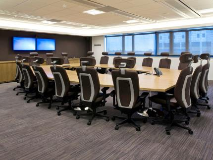 Highbury Campus' fully equipped boardroom