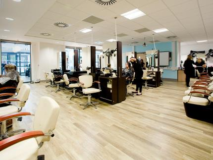 Highbury Campus' very own Eden Hair and Beauty Salon