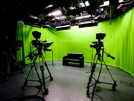 Film recording studio at Highbury Campus