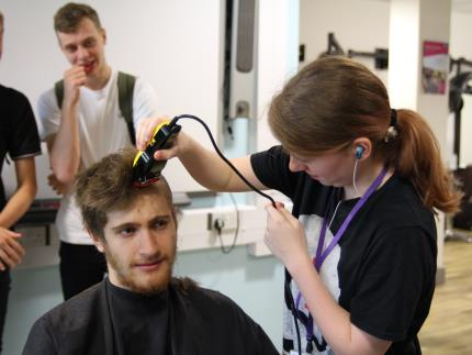 Highbury College supporting Combat Stress