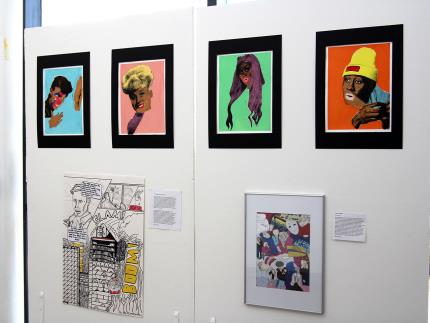 Highbury College's Creative Showcase-art