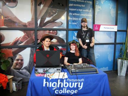 Highbury College's Creative Showcase-digital media