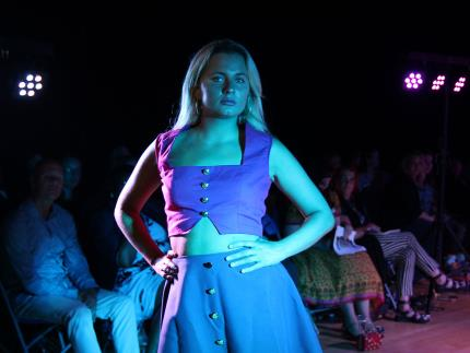 Highbury College's Creative Showcase-fashion show