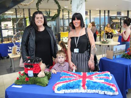 Highbury College's Creative Showcase-floristry