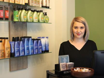 Former Student Opens New Salon