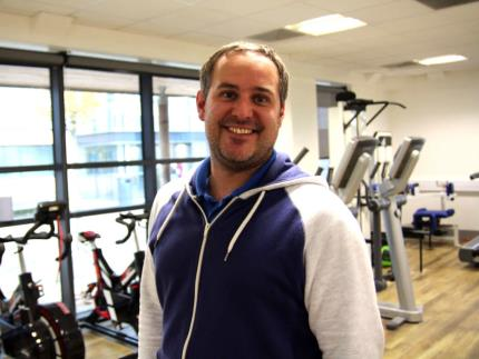 Sports Centre Supervisor Dean Brown
