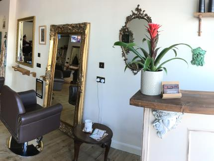 A look inside of Molly Caswell's new salon