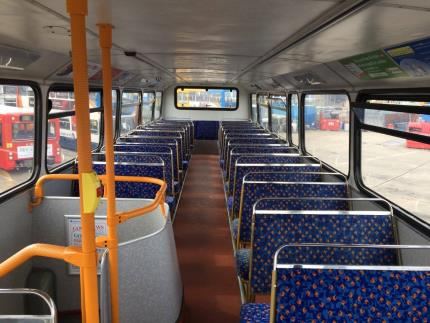 Highbury College students helped transform a bus into a homeless shelter
