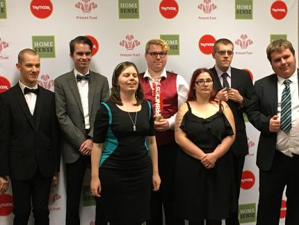 Prince's Trust students win top community award