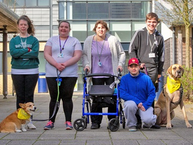 Highbury College Therapy Dogs