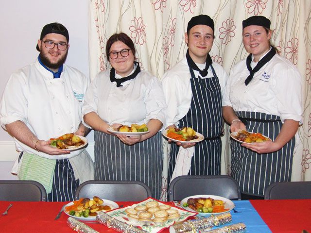 Trainee Chefs combat isolation of city's homeless
