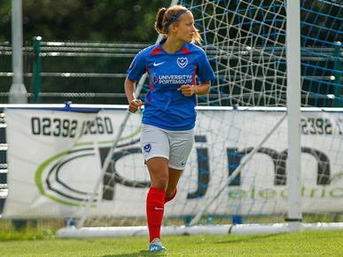 Pompey's Mia Adaway called up by England Colleges under-19s