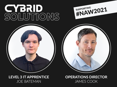 Cybrid Solutions National Apprenticeship Week 2021