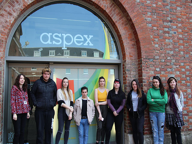 Highbury art students set to exhibit at Aspex