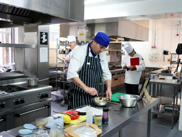 Highbury catering students win at Chefs