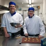 Catering students Leeam Simpson and Harry Cotten win Hampshire Fare recipe competition