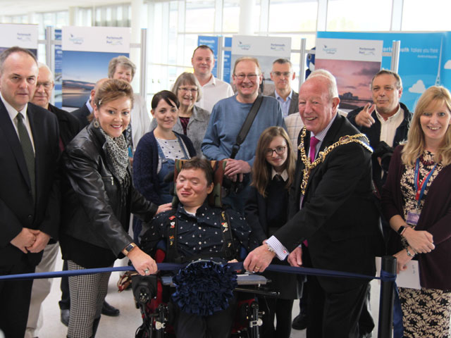 The Lord Mayor of Portsmouth opens Highbury College