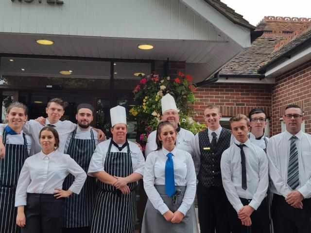 Highbury students take over Brookfield Hotel in Emsworth