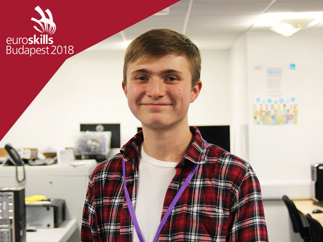 Lewis newton makes it to EuroSkills Finals