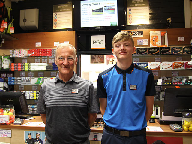 Portsmouth Golf Centre and Highbury College team up