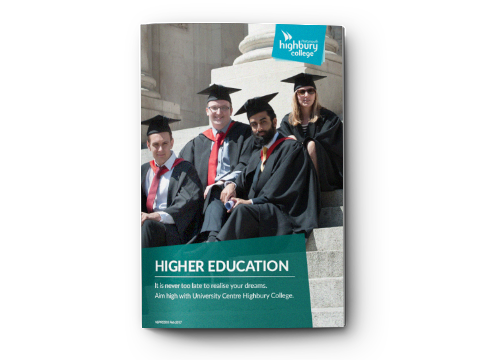 Higher Education Course Guide 2017 – Highbury College