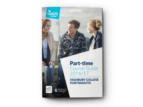 Highbury College Part-time Course Guide 2016-17